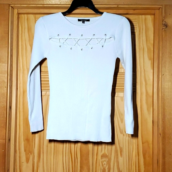 New Look ribbed long sleeve sweater 3X